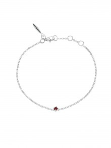 Birthstone Bracelet January Granat