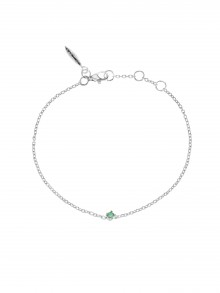 Birthstone Bracelet May Smaragd
